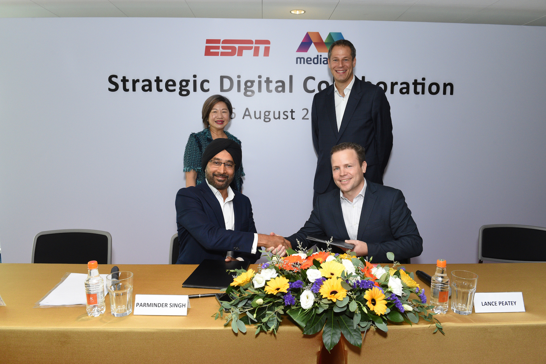 ESPN and Mediacorp enter strategic digital collaboration