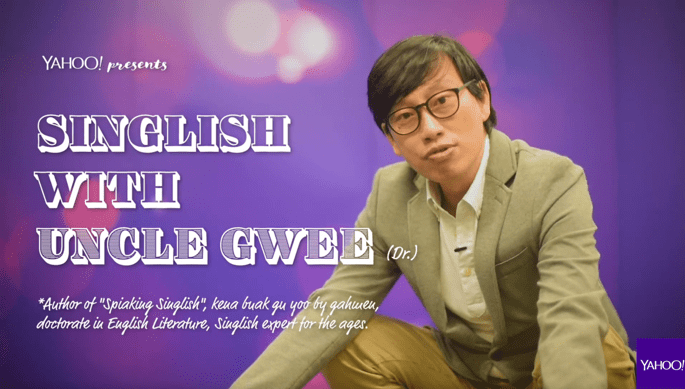 Yahoo TV launches Singlish with Uncle Gwee Season 2