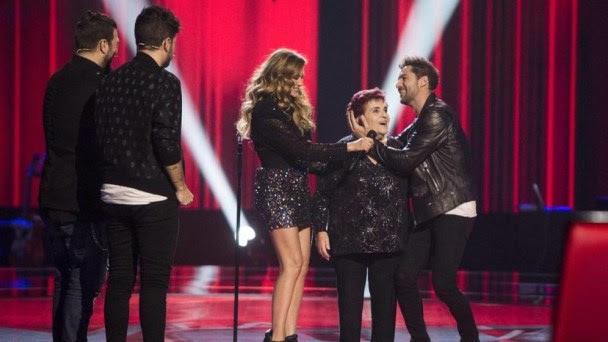The Voice Senior premiere reached 2.4 million viewer in Spain