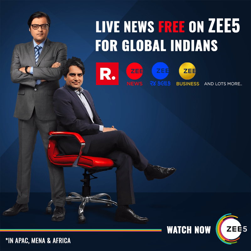 ZEE5 Global now streams live news free for its global audiences