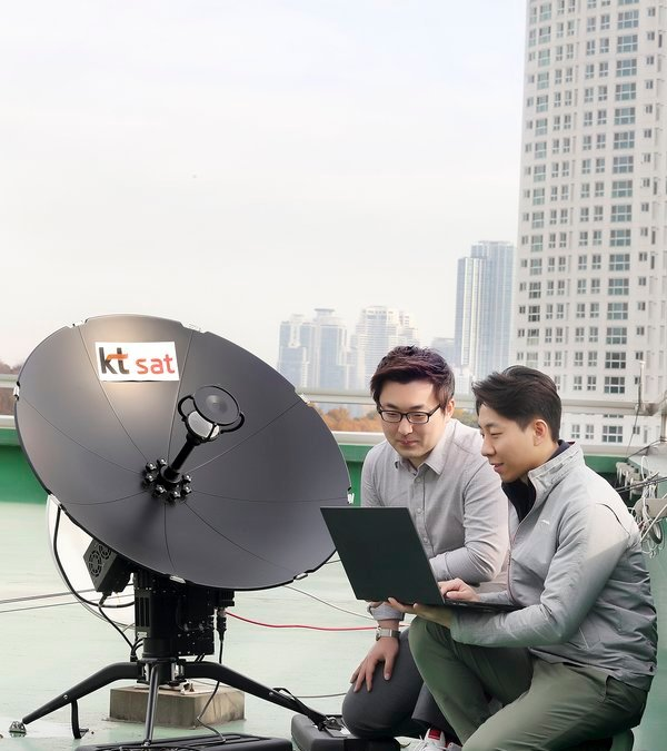 KT SAT conducts World's first satellite 5G Connection