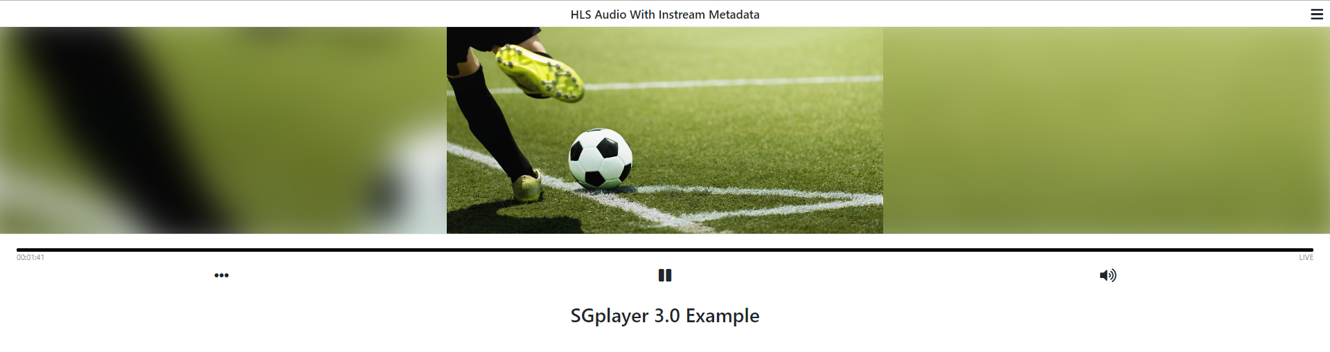 StreamGuys releases SGplayer 3.0