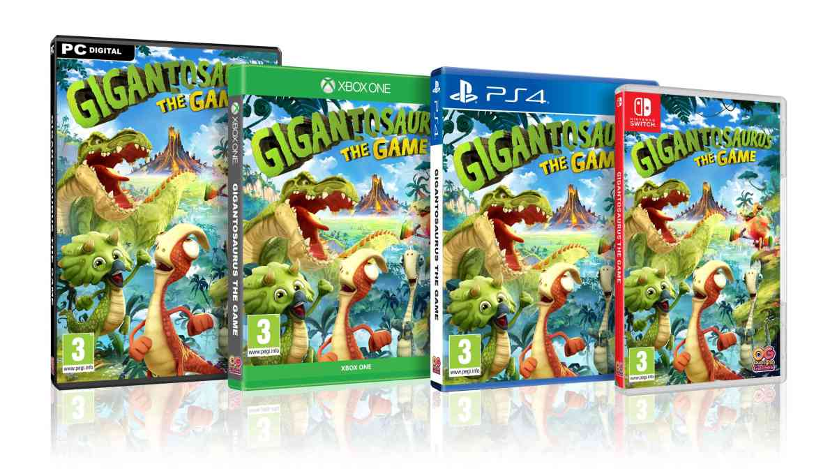 Hit dino show Gigantosaurus! to release new video game