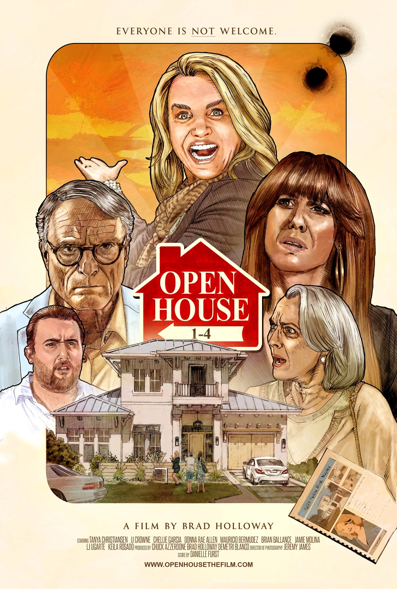 Dark comedy short Open House 1-4 spotlighting the cutthroat real estate industry launches on Amazon Prime