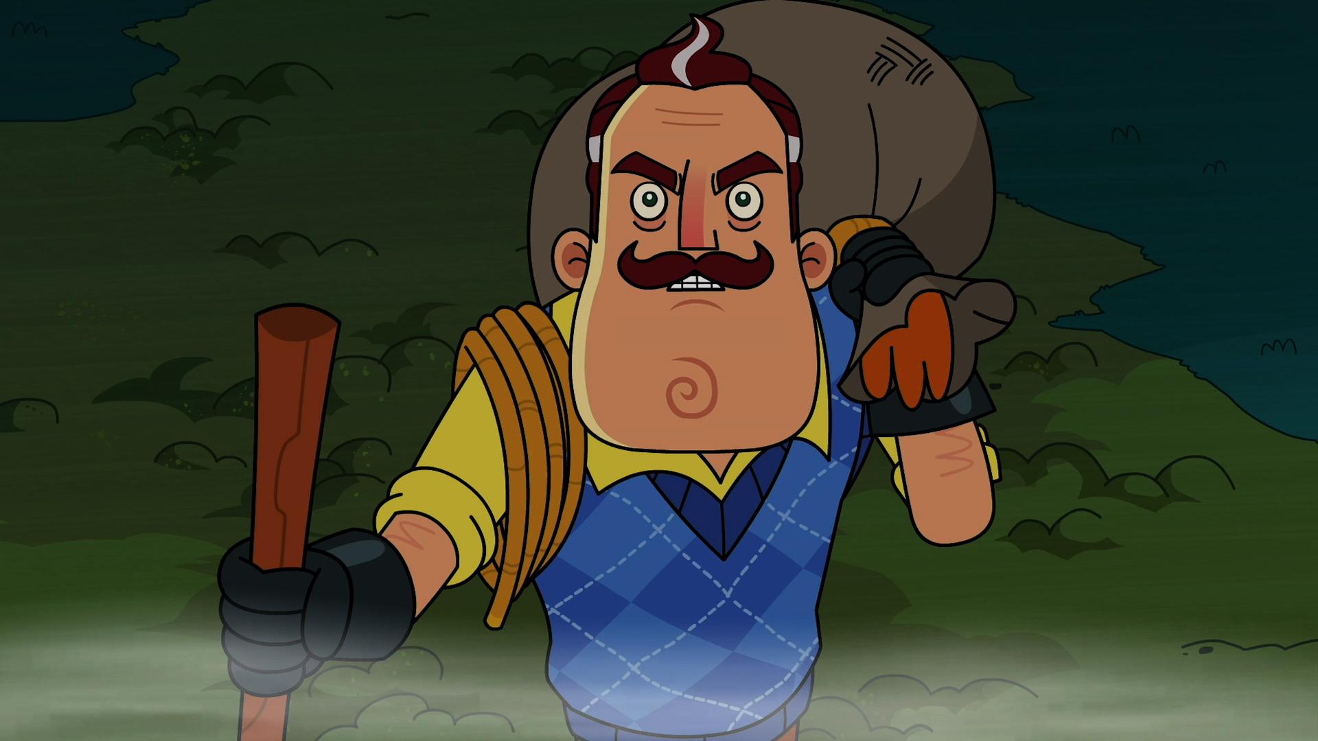 New Animated Series: Hello Neighbor