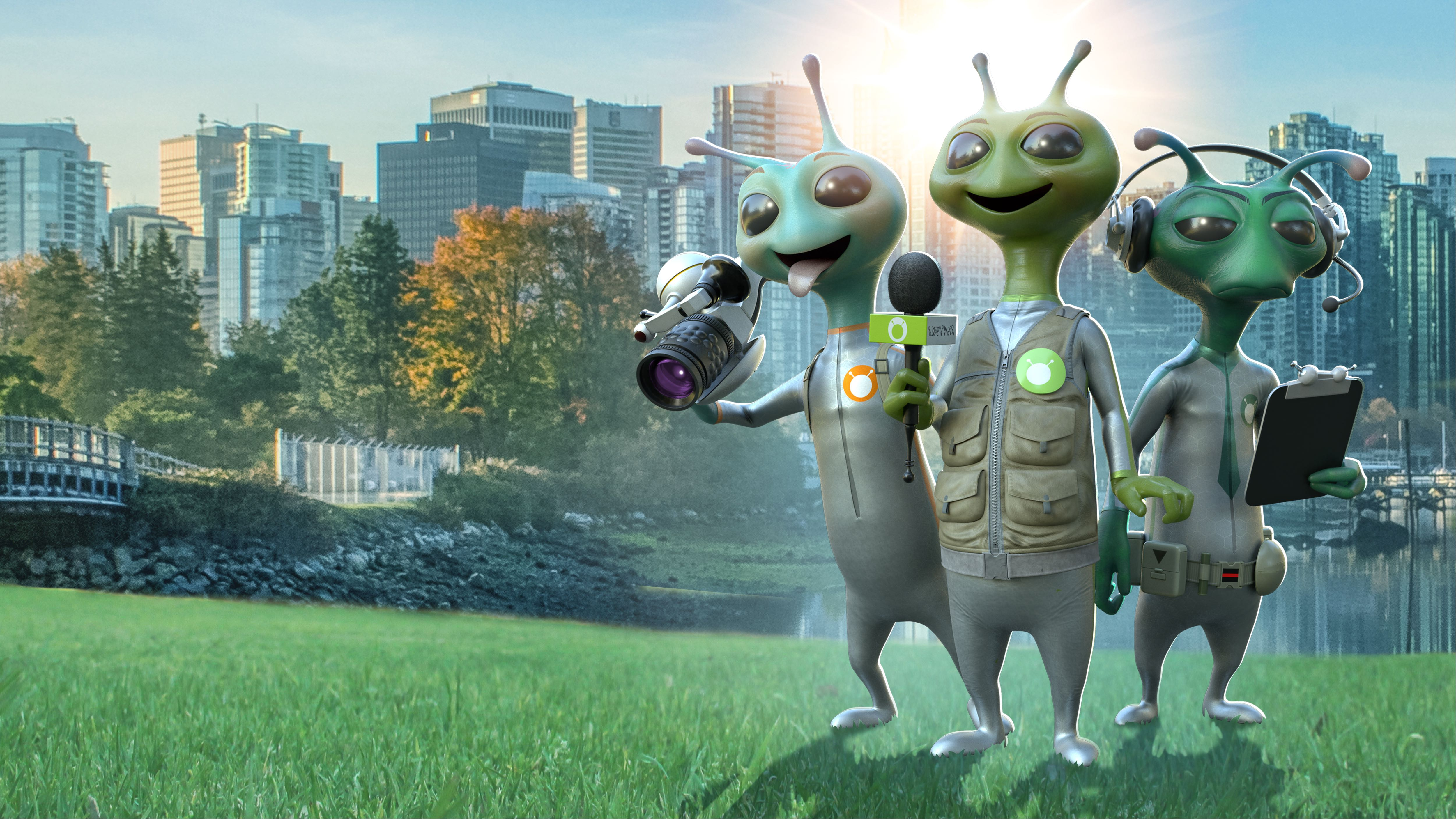 eOne and POP Family's new hybrid animated series 'Alien TV' prepares to land