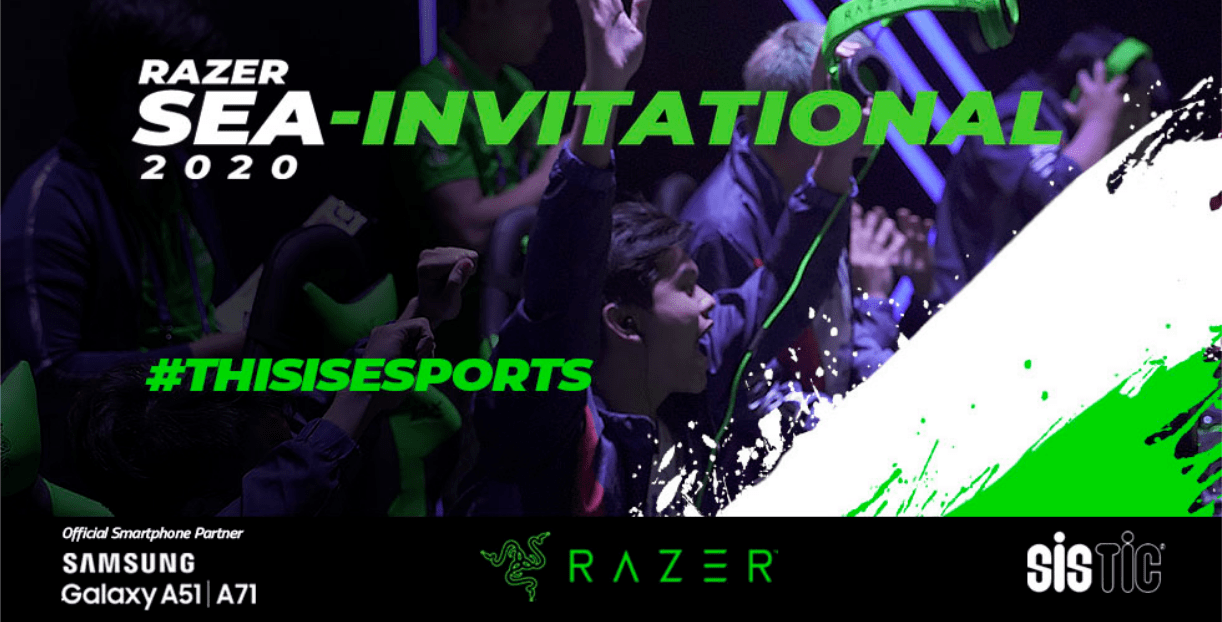 Razer Southeast Asian-Invitational 2020: Bringing esports to the masses with Samsung Electronics and SISTIC