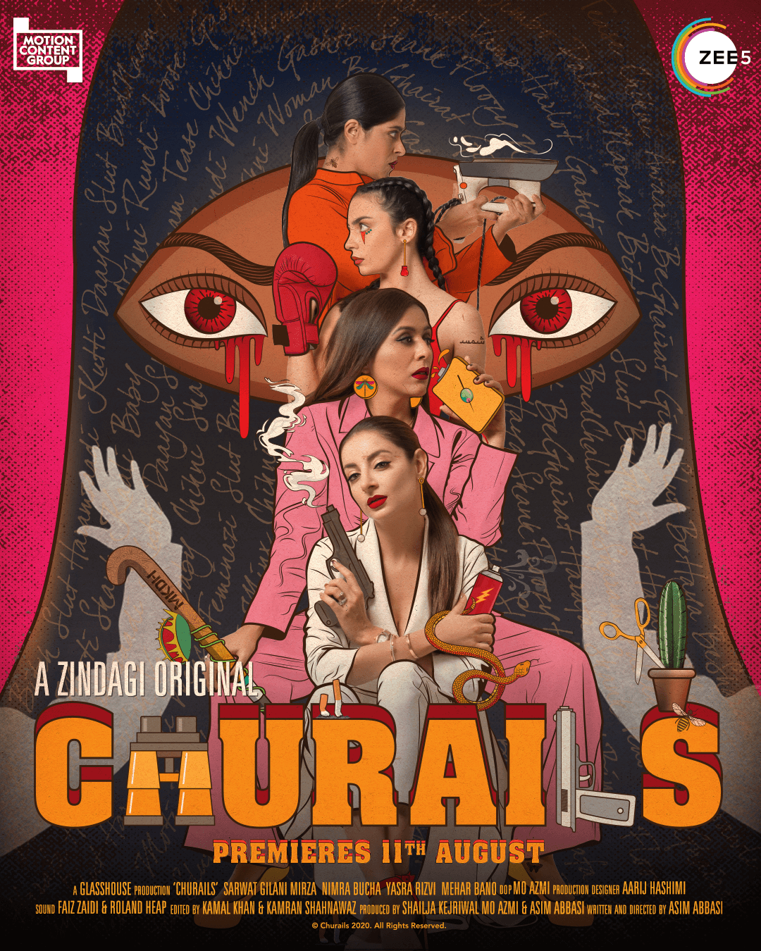 "Embrace the Churail in you with Zindagi's Brand New Show ""Churails"" on ZEE5 Global"
