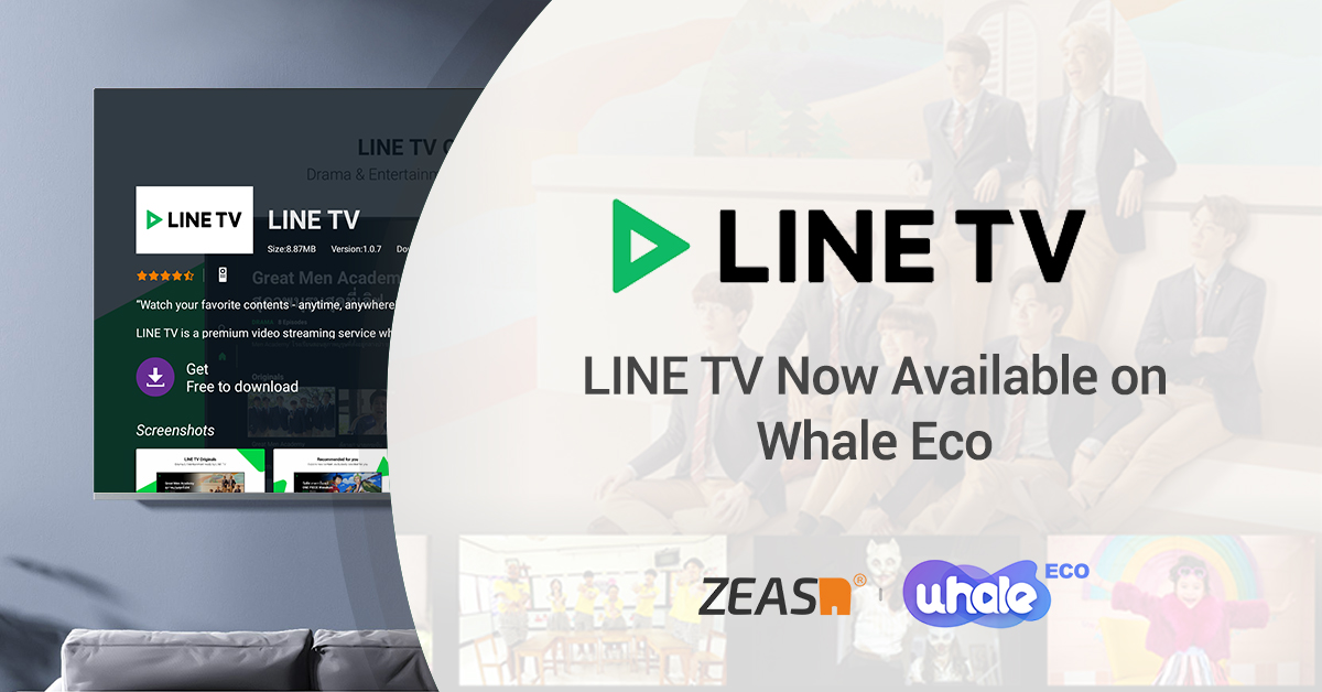 ZEASN and Line TV partner to bring trending content to smart TVs