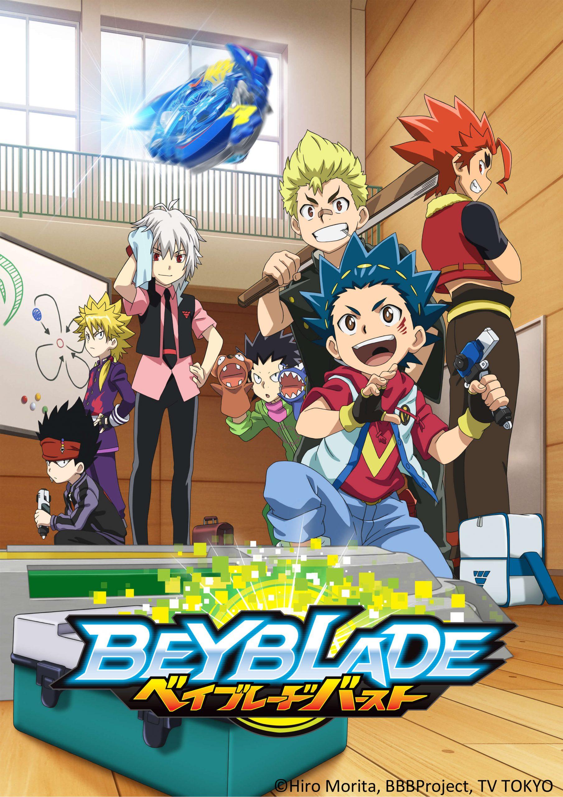 'Beyblade Burst' TV series now airing on RTV Indonesia via Animasia Studio