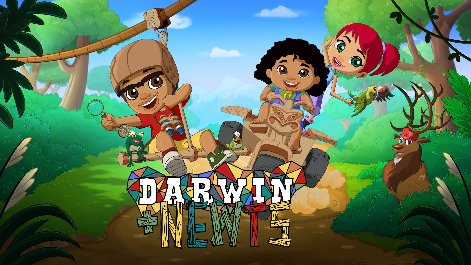Imira's new edutainment title 'Darwin & Newts' adds the STEM spark to Da Vinci Kids library
