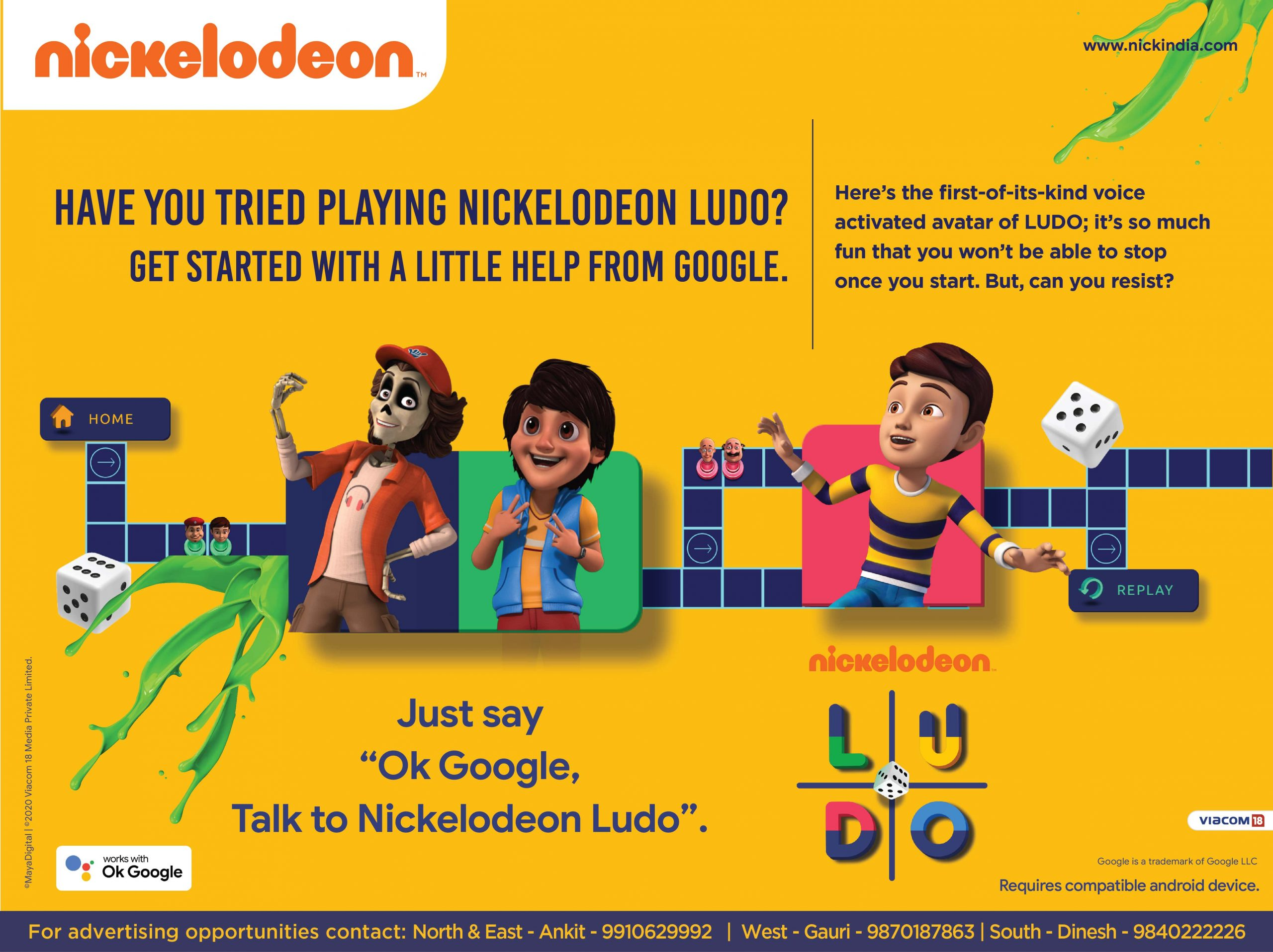 Nickelodeon reimagines the epic game of Ludo with a little help from Google