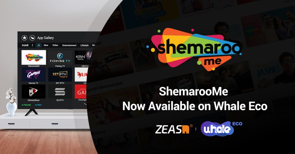 ShemarooMe expands worldwide reach on connected televisions via partnership with ZEASN