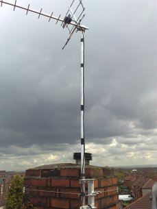 chimney mounted tv aerial