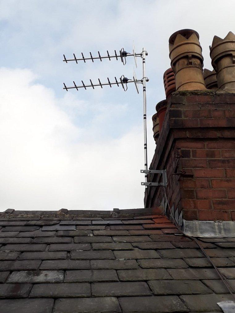 2 point tv aerials