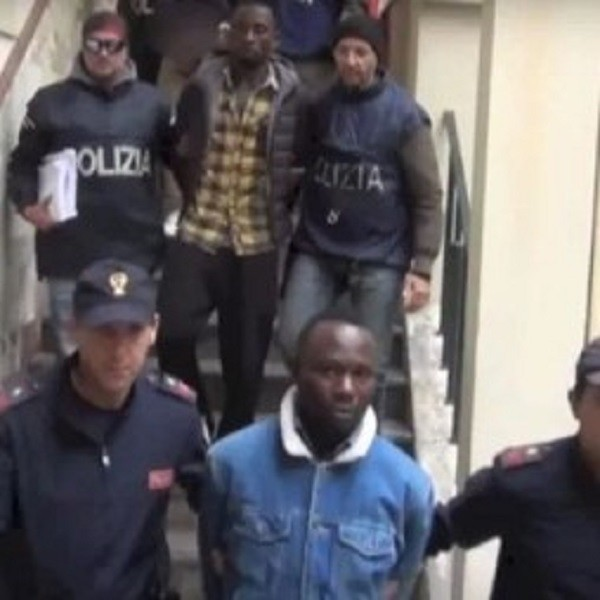 Police arrest 19 suspected members of a Nigerian mob in Italy