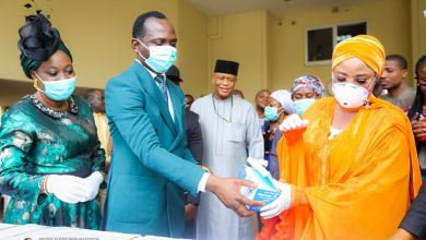 Coronavirus: Dunamis Church's Pastor, Dr Paul Enenche donates safety materials