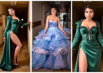 BBNaija 2019 winner, Mercy Eke goes pantless at the AMVCA 2020 (Photos)