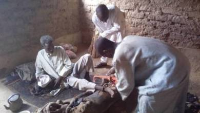 Man rescued in Kano after chained for 30 years by his father
