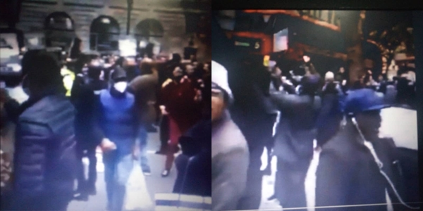 #EndSARS: Watch as Nigerians in UK protest, chant Buhari is dead (Video)