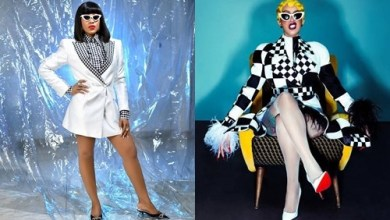 Cardi B blasts Fan who trolled Erica for copying her STYLE