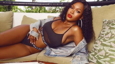 Vee in her ELEMENTS again, storms the internet with stunning photos