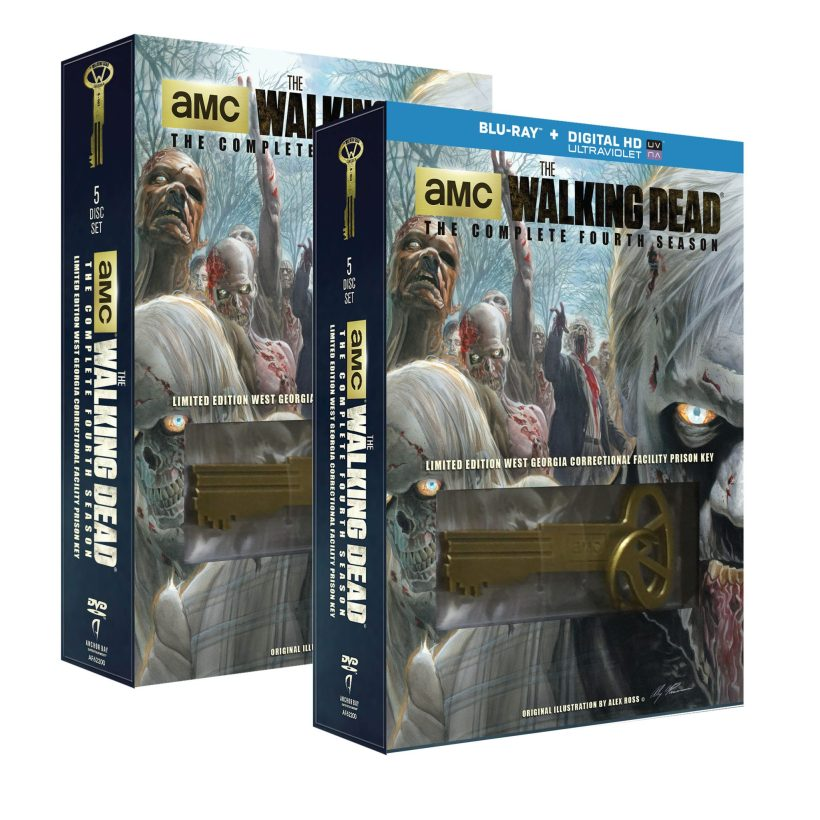 The Walking Dead- The Complete Fourth DVD Blu-ray