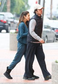 Ian Somerhalder and Nikki Reed YOGA 3