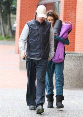 Ian Somerhalder and Nikki Reed YOGA 6