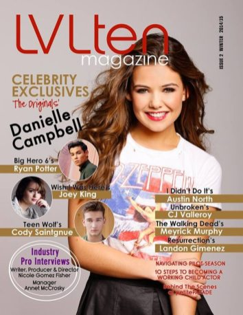 Danielle Campbell LVLTEN Magazine 0