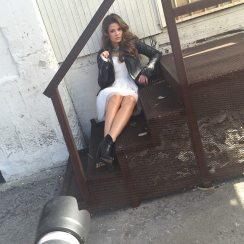 Danielle Campbell LVLTEN Magazine BTS 3