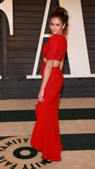 Nina Dobrev 2015 Vanity Fair Oscar Party 17