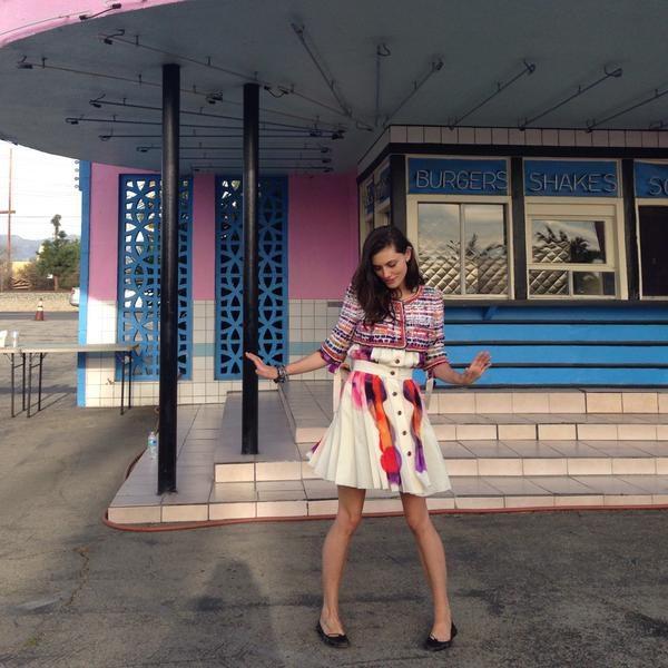 Phoebe Tonkin ELLE Australia BTS 6