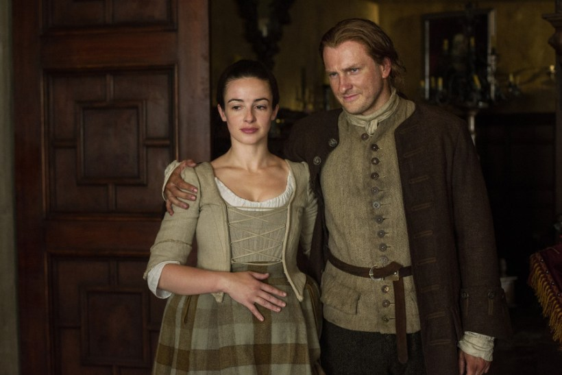 Outlander Jenny and Ian