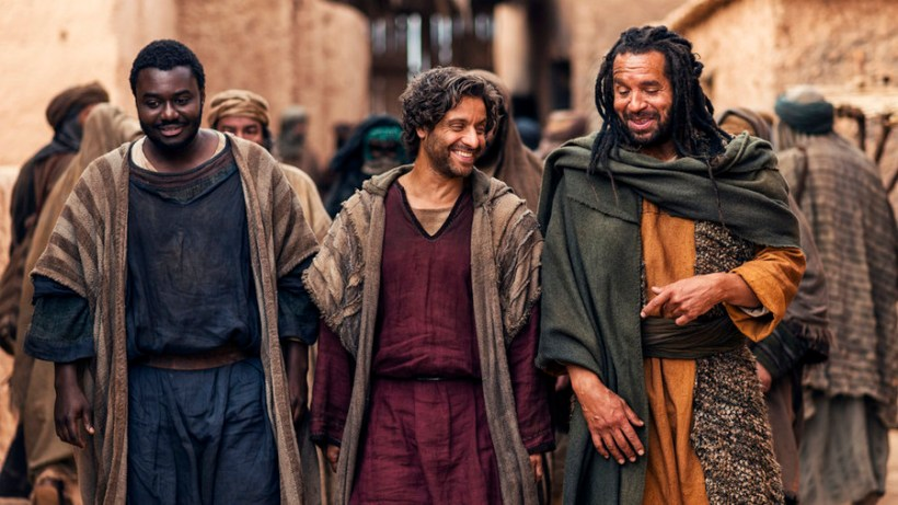 "A. D. The Bible Continues 1x08 ""The Road To Damascus"" Synopsis & Photos"