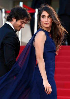 Cannes Film Featival Ian Somerhalder and Nikki Reed 16