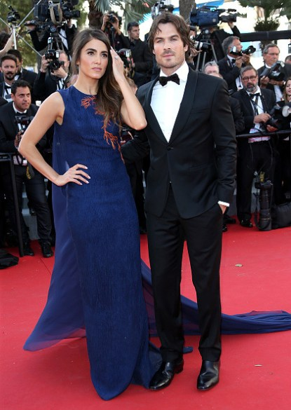 Cannes Film Featival Ian Somerhalder and Nikki Reed 21