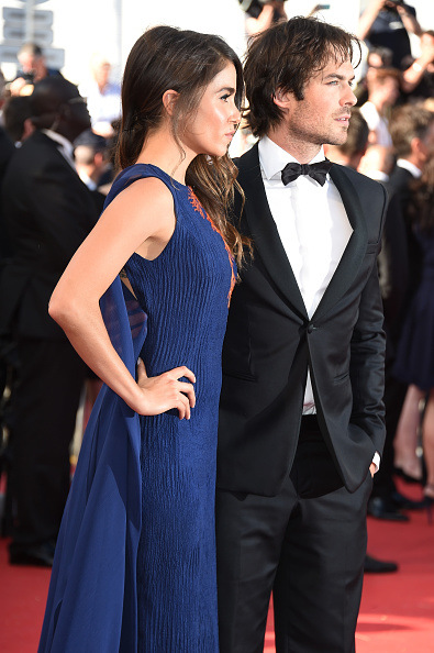 Cannes Film Featival Ian Somerhalder and Nikki Reed 3