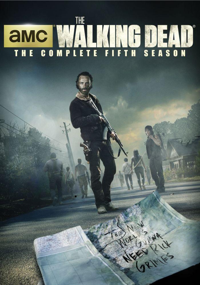 The Walking Dead Season 5 DVD 1