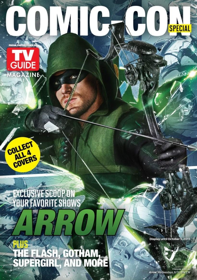 ARROW - TV Guide Cover