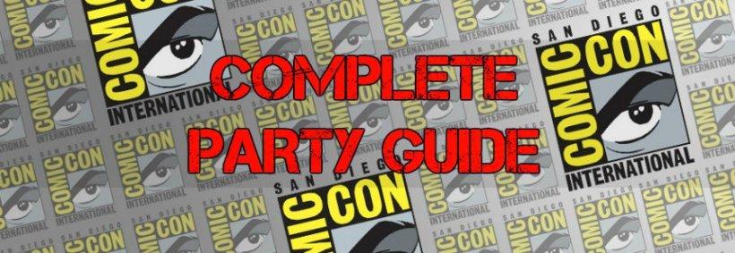 Comic Con 2015 Party Guide