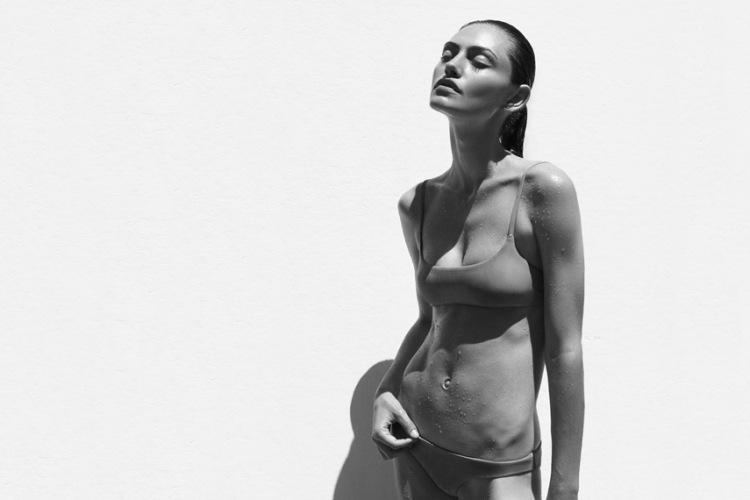 Phoebe Tonkin Matte Swim 5