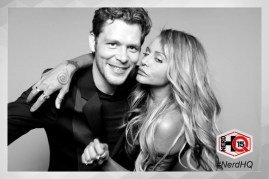 The Originals Nerd HQ Photo Booth Joseph and Persia 1