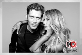 The Originals Nerd HQ Photo Booth Joseph and Persia 2