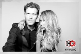 The Originals Nerd HQ Photo Booth Joseph and Persia 4