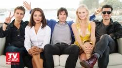The Vampire Diaries TV Guide Magazine Yacht 8