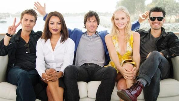 The Vampire Diaries TV Guide Magazine Yacht 9