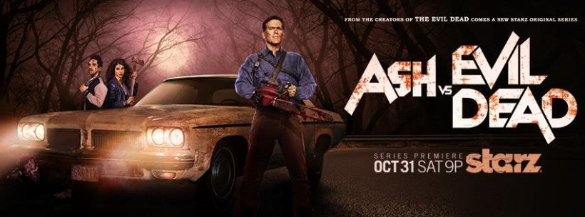 ASH VS EVIL DEAD - Banner