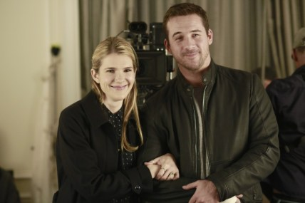 BTS The Whispers 1x12 / LILY RABE, BARRY SLOANE