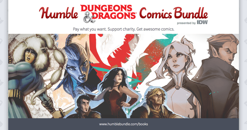 'Dungeons & Dragons' Humble Bumble Comic Bundle